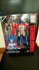 Transformers Hasbro Titans Return Powermaster Optimus Prime MISB