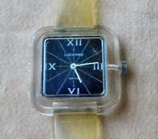 VTG c.1960th Rare Lucerne Swiss Made Wind-Up Mechanical Watch w/original band