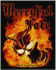 MERCYFUL FATE KING DIAMOND Don't Break The Oath PATCH AUFNÄHER OFFICIAL MERCH