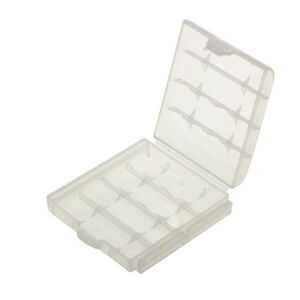 Akkubox Batteriebox Box für 4 Batterien Akkus AA Mignon oder 5 Micro AAA Akku