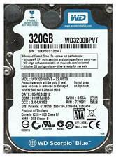 "Western Digital 2.5"" SATA - Hardisk - WDC WD3200BPVT-22JJ5TO"