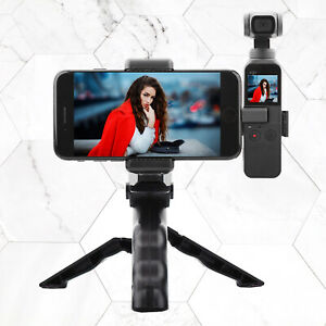 For DJI OSMO Pocket Camera Tripod Mobile Mount Phone Holder Kit with Phone Clip