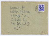 All.Bes./Gemeinsch.Ausg. Mi. 955 EF, Wiesenburg 14.6.46 - New York