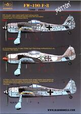 "Hungarian Aero Decals 1/48 FOCKE WULF Fw-190F-8 ""POTTOM"" Fighter"