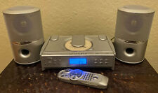 Sharper Image PH-130 Stereo Radio CD player, Speakers and Remote. Works great