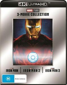 Iron Man: 3 Movie Collection (4K Ultra HD)