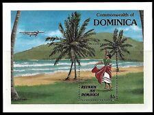 DOMINICA. Reunion '88.  Souvenir sheet. 1988 Scott 1080. MNH  (BI#23)