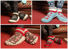Indoor Woollen Shoes Socks Warm Handmade