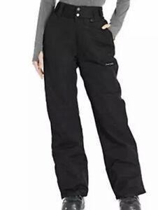 Arctix Women's Insulated Snow Pants Black 2X/Regular