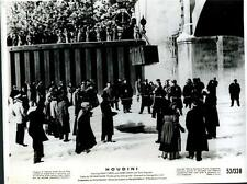 Curtis dropped on frozen Detroit river Houdini 1953 original movie photo 235