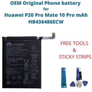 OEM Original Battery For Huawei P20 Pro Mate 10 Pro mAh Capacity HB436486ECW New