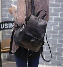 Lady Women Leather Backpack College Shoulder Fashion Rucksack Satchel Travel Bag