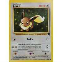 Pokemon Card - Eevee/ Evoli 55/82 - Team Rocket - Englisch - NM/Mint