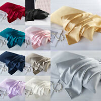 100% Mulberry Pure Silk Pillowcase Covers Queen 16mm Silk Anti-Ageing Beauty
