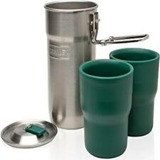 ❤ Camp Cook Set 24Oz Stanley Adventure Stainless Steel Mini-Pot & 2 Insulated Cu