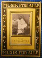 Musik für Alle Nr.213 Verdi La Traviata Verlag Ullstein Berlin H8146
