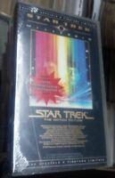 STAR TREK THE MOTION PICTURE - MILLENNIO VHS TIRATURA LIMITATA