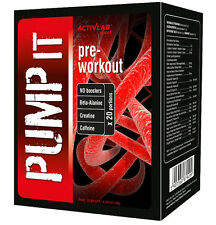 PUMP IT ! 20 Servings Advanced Pre-workout NO Booster with Beta-Alanine