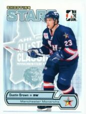 """DUSTIN BROWN """"SHOOTING STARS CARD AS-12 AS12"""" HEROES & PROSPECTS"""