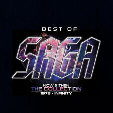 Saga - Best Of Saga (Now & Then - The Collection 19878-Infinity) 2015 2xCD