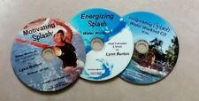 Water Aerobic Workouts Aqua Exercise CDs Three New Aquatic Fitness CD's