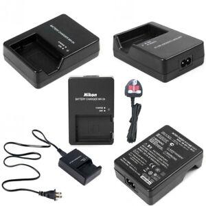 2021 MH-24 Battery Charger for Nikon D3100 D3200 D5100 D5200 D5300 D5500 UK