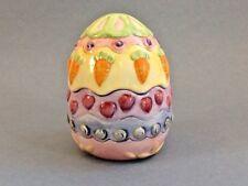A Nice Ceramic Easter Egg Jar