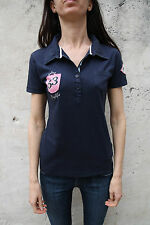 playlife dark blue polo t-shirt top shirt navy we are not afraid of little sun l