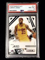 🏀 2009 Panini Rookies and Stars Lebron James #14 PSA 8 - Cleveland Cavaliers 🏀