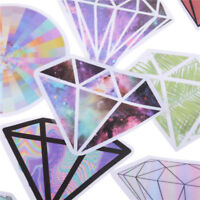 18Pcs Diamonds Stickers For Car Laptop Luggage Skateboard Motorcycle Decal TK
