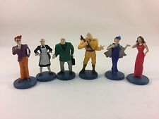 Clue Parker Brothers Detective  Board Game 2002 6 Collectible Suspect Tokens