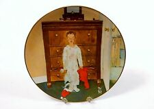 "Norman Rockwell Collector Plate ""The Truth About Santa"", 1974 Lake Shore Prints"