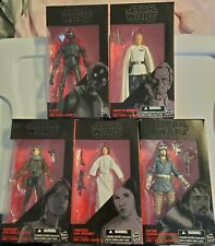 Star Wars Black Series Rogue One Figures Lot 6 inch