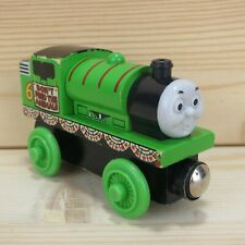 ZOO TOUR PERCY - THOMAS & FRIENDS WOODEN TRAIN ENGINE - 2003 LEARNING CURVE