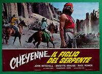 T15 Fotobusta Cheyenne Die Sohn Der Schlange John Mitichell Brigitte Krause