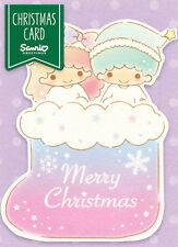 "Sanrio Little Twin Stars ""Stocking"" Christmas Gift Tag"