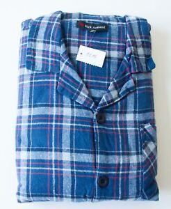 Herren- Schlafanzug, Pyjama, Langarm- Flanell- ehemalige UVP 49,99 Gr. 3XL