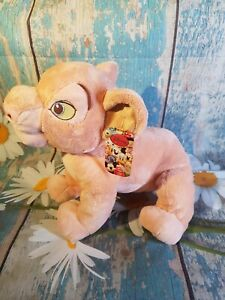 """Disney Store Lion King Nala 14"""" Plush Soft Toy - Official Stamped Collectable"""
