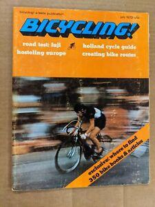 Bicycling Magazine July 1972 Road test: fuji M398