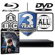 Sony Ubp-x800 All Zone Multiregion 4k Ultra HD Blu-ray Player