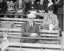 Baseball player Babe Ruth sits in bleachers of stadium 1922 New 8x10 Photo