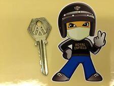 Royal Enfield Jet Helmet 2 Finger Rider Sticker Self Adhesive Vinyl