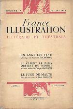 EO GEORGES SIMENON : LE CLIENT LE PLUS OBSTINÉ DU MONDE ( FRANCE ILLUSTRATIION )