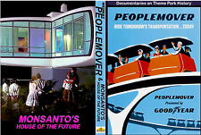 EXTINCT ATTRACTIONS 2 DVD SET HOUSE OF THE FUTURE / PEOPLEMOVER