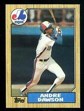 1987 Topps Andre Dawson Montreal Expos #345 (Lot Of 2) Baseball Cards NM-MT