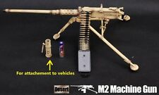 US Military 1/6 Figure M2 .50 cal Browning Machine Gun Iraq Desert G_8031B