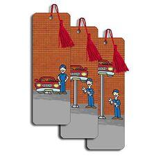 Bookmark Auto Body Repair Car Mechanic Animated Lenticular #BM20X60-237#