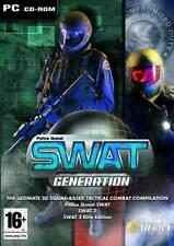 Pack de génération de swat police Quest SWAT 1 2 & 3 Elite Edition-PC (nouveau)