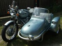1955 BSA 750 FOUR  MOTORCYCLE SIDECAR OUTFIT