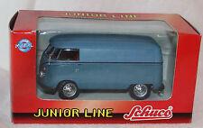 Schuco Junior Line 1:43 Metallmodell -27174- VW T1 Bus Kastenwagen blau - Neu